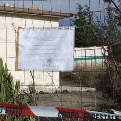 Serra Pastore, sequestrata la discarica