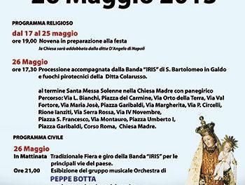 Festeggiamenti in onore di Maria SS. Del Carmine