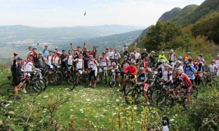 Preparativi per la prima edizione del 'Trofeo XC San Bartolomeo in Galdo' di bike