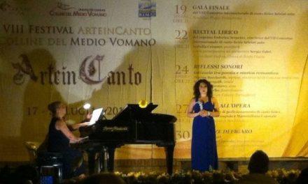 """Federica Grumiro debutterà nel ruolo della Contessa ne """"Le Nozze di Figaro"""", nell'ambito del VIII Festival ArteinCanto"""