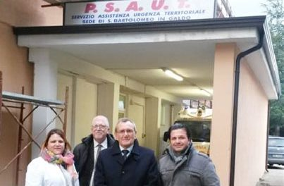 Il commissario straordinario dell'Asl Franklin Picker fa visita all'Ospedale fantasma di San Bartolomeo in Galdo