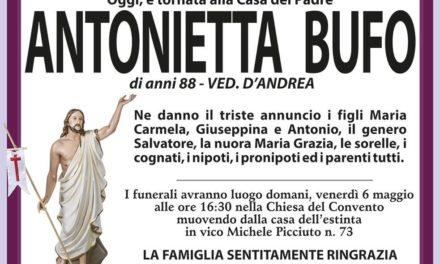 Antonietta Bufo