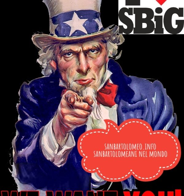 sanbartolomeo.info: we want you!